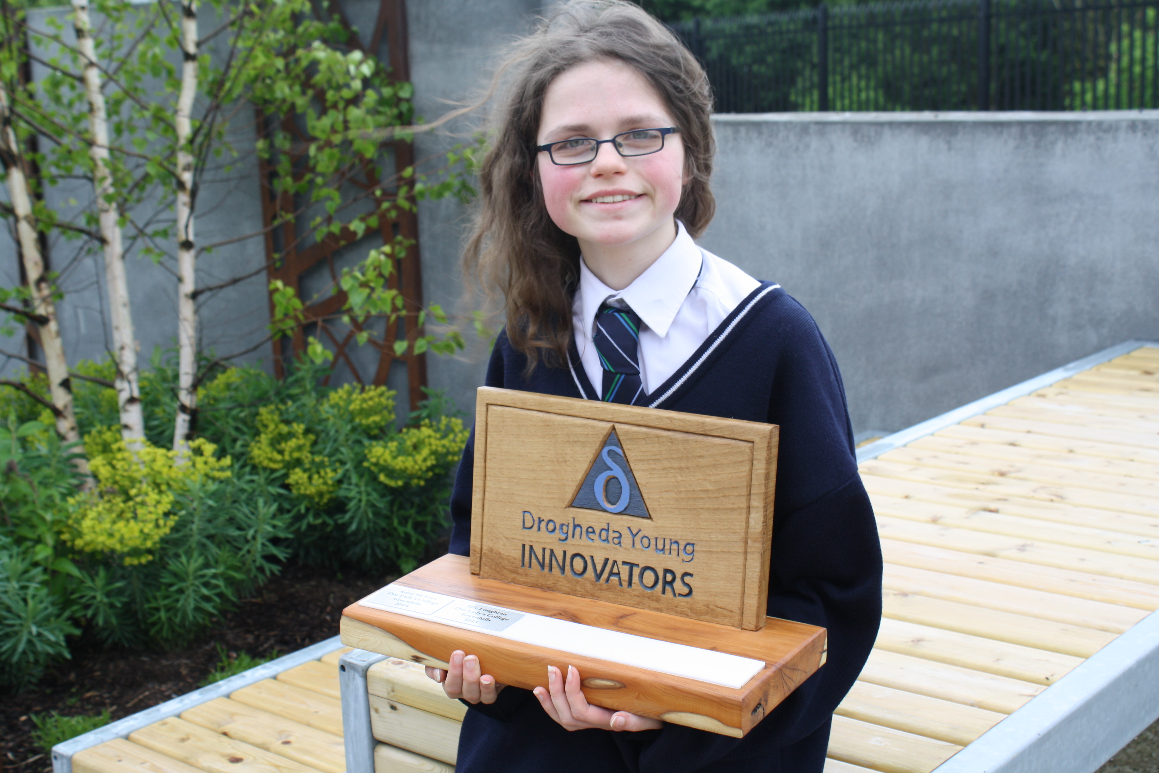 Drogheda Young Innovators 2015 Winner Elle Loughran